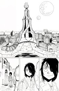 anna molly page 1 inks