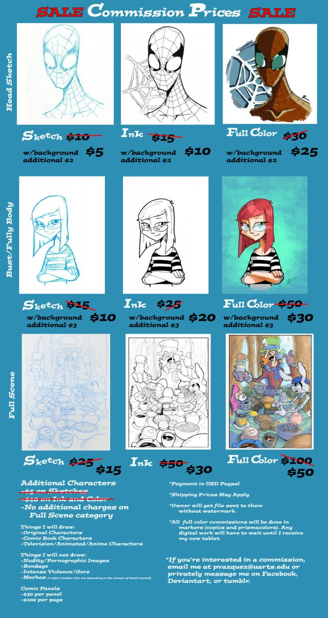 Sale on Commissions