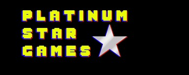 "Logo for ""Platinum Star Games""; game store located in Howell,NJ."