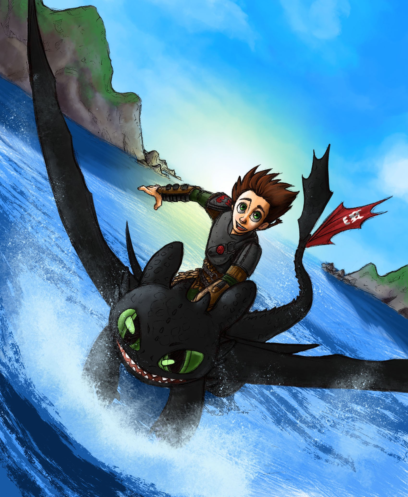 How to Train Your Dragon The Hidden World is an animated movie produced by DreamWorks Animation and the sequel to How to Train Your Dragon 2 It is the third and