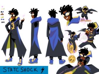 Static Shock Character Sheet