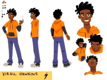 Virgil Hawkins Character Sheet